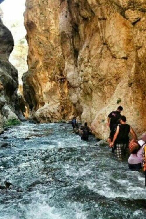 رودخانه نوردی  مهیج دره زمان
