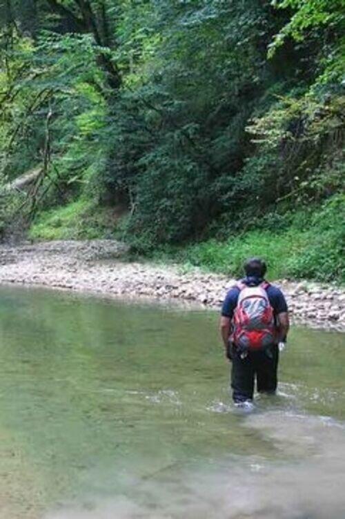 رودخانه نوردی مهیج پلنگ دره