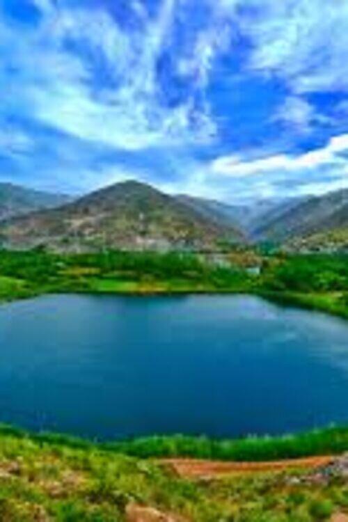 تور سفر به عمق طبیعت دریاچه زیبای الماس
