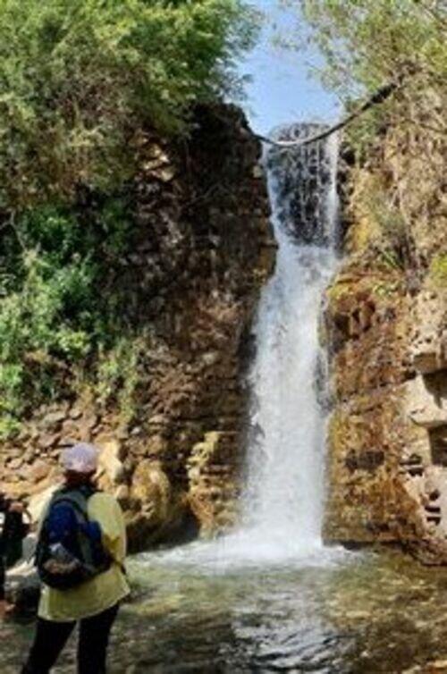 تور آبشار سیبان دره و جنگل پروانه ها