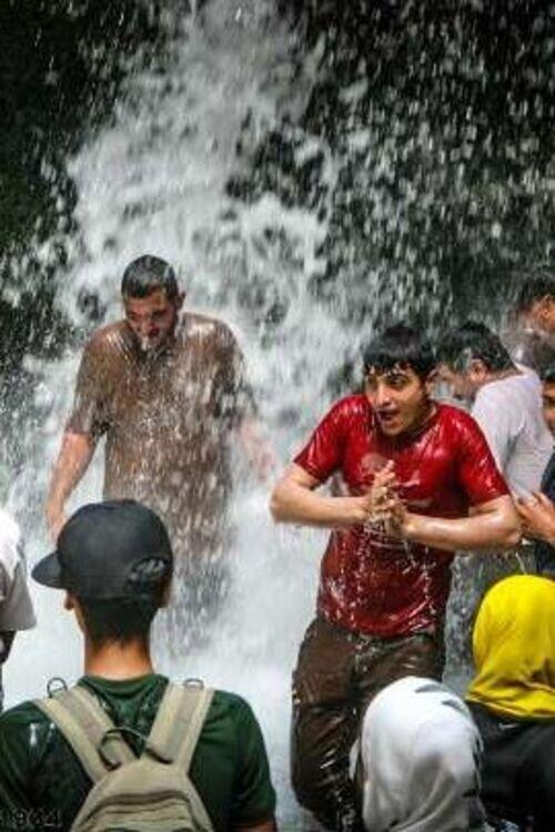 لذت آب بازیه تابستان در تنگه واشی