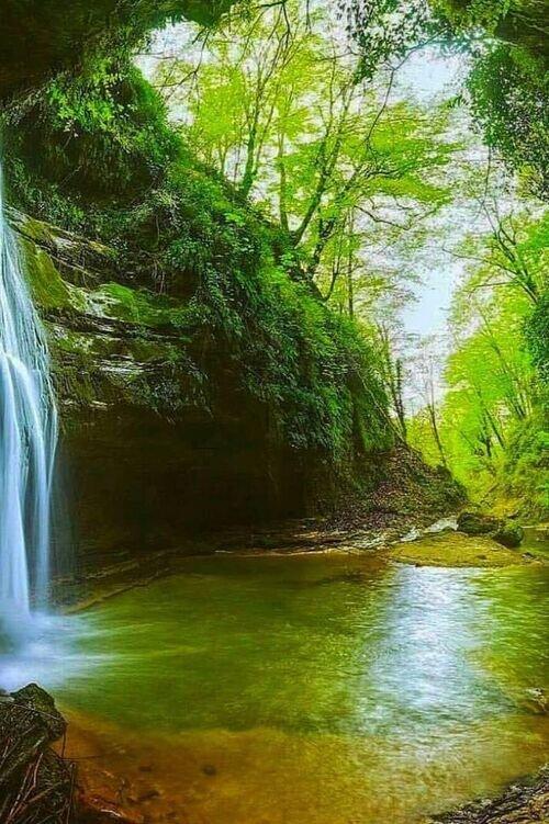 تور آبشار و جنگل پلنگ دره
