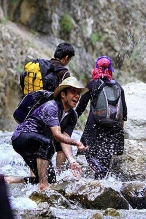 آب بازی و رودخانه نوردی در تنگه واشی